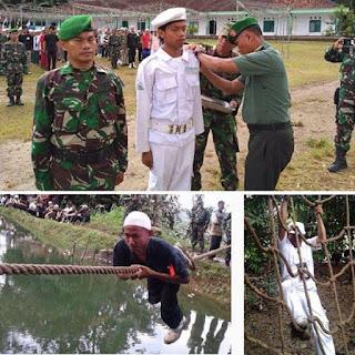 GOOD JOB! FPI dan TNI Gelar Latihan Bela Negara ala Militer di Banten