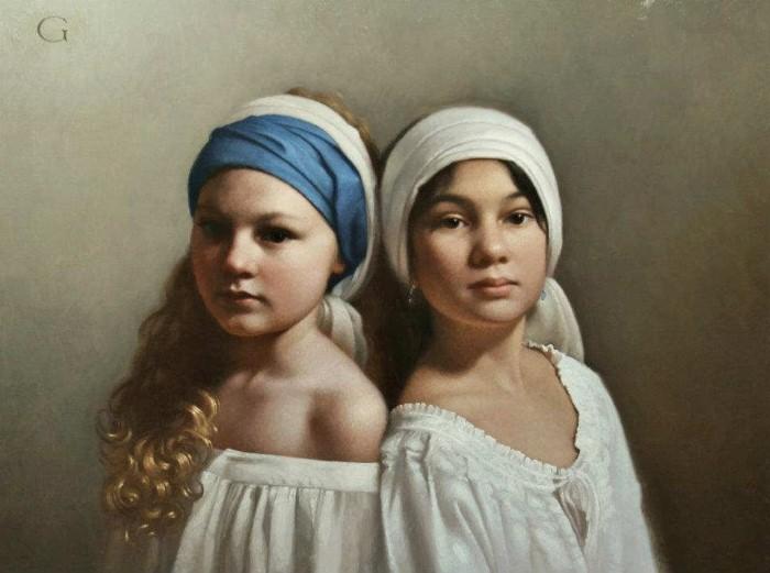 Картины маслом. David Gray 19