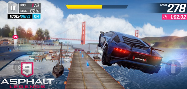 Asphalt 9 Legends iPhone iPad Android juegos de autos gratis