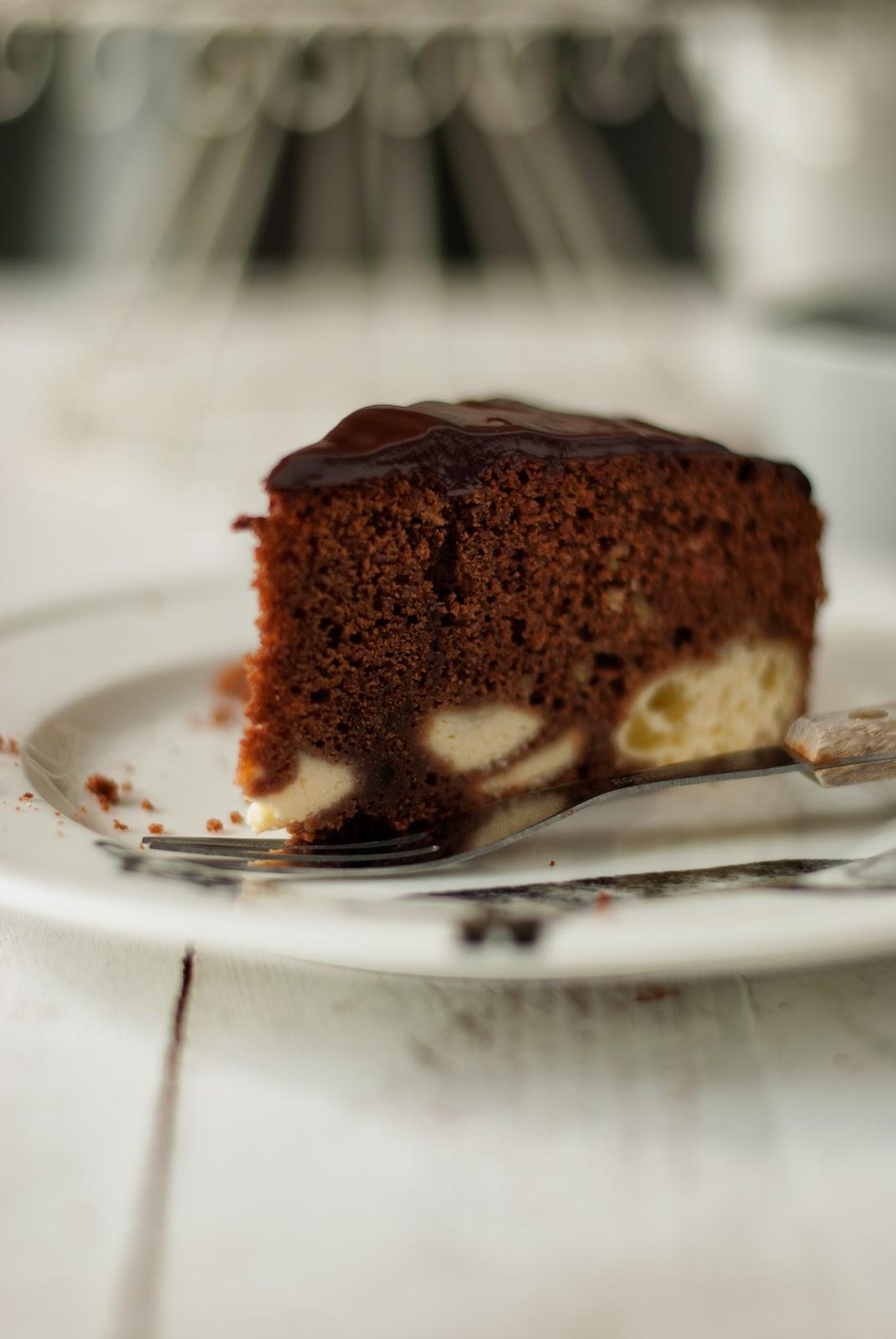 Proste ciasto czekoladowe bez glutenu
