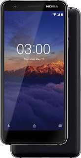 Nokia 3.1 Black Chrome