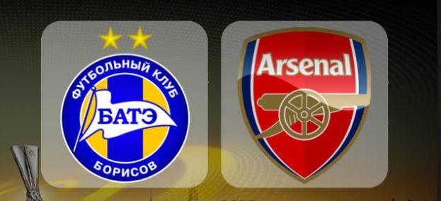 FC BATE Borisov v Arsenal FC (LIVE STREAMING)