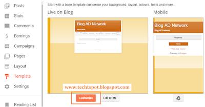 Create Menu Tabs In Blogger Blog 4