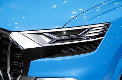 Audi Q8 SUV Headlight Concept image