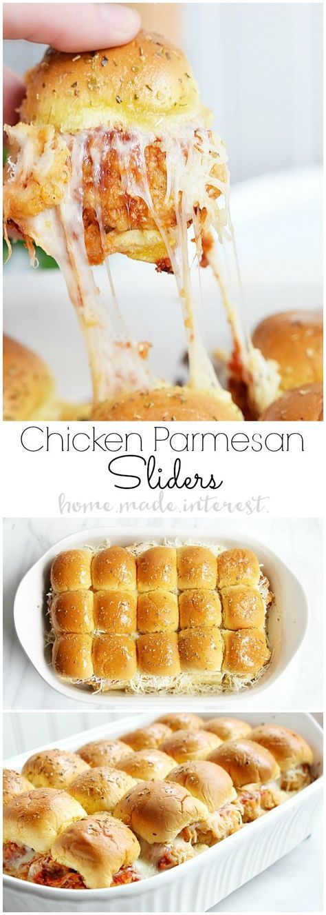 Chicken Parmesan Sliders | Easy and Delicious