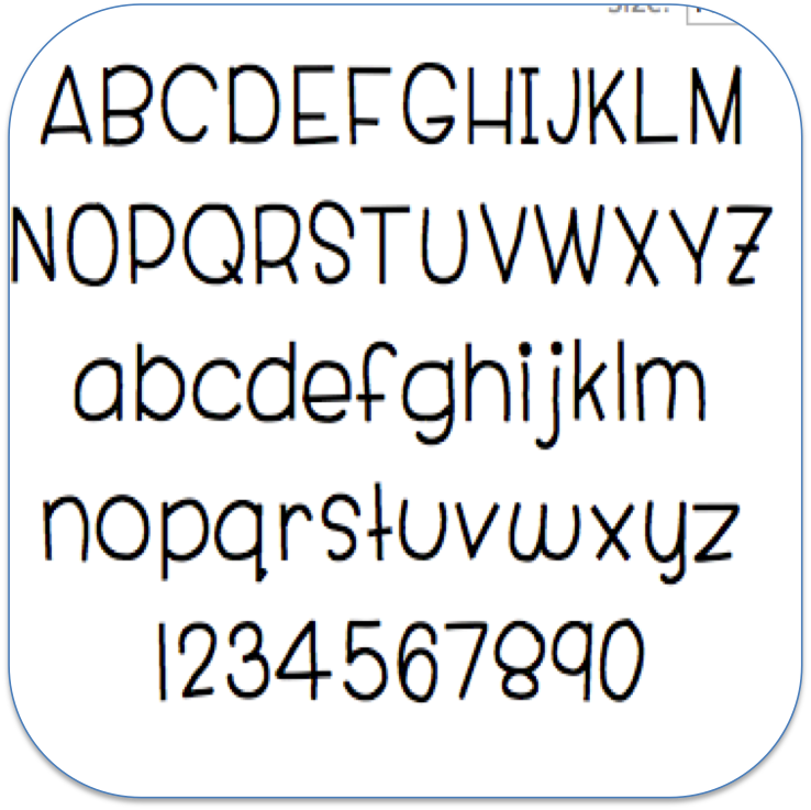 Free Cute Number Fonts