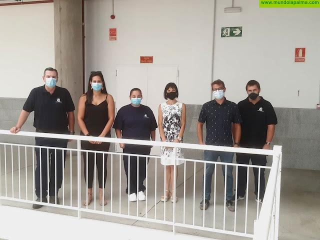 El centro especial de empleo de Funcasor asume el mantenimiento y limpieza del pabellón Roberto Estrello