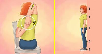 Postura correcta salud