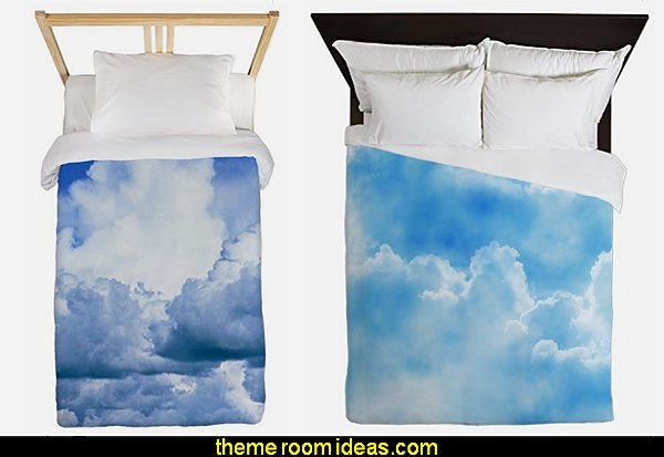 clouds duvet covers clouds bedding cloud theme bedroom decorating