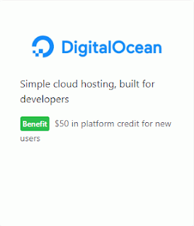 Voucher Digital Ocean (DO) $50