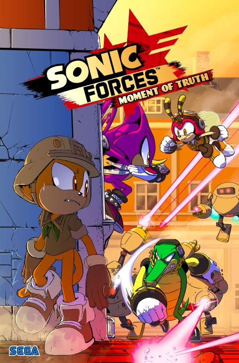 Se comparte primera entrega del cómic digital de Sonic Forces