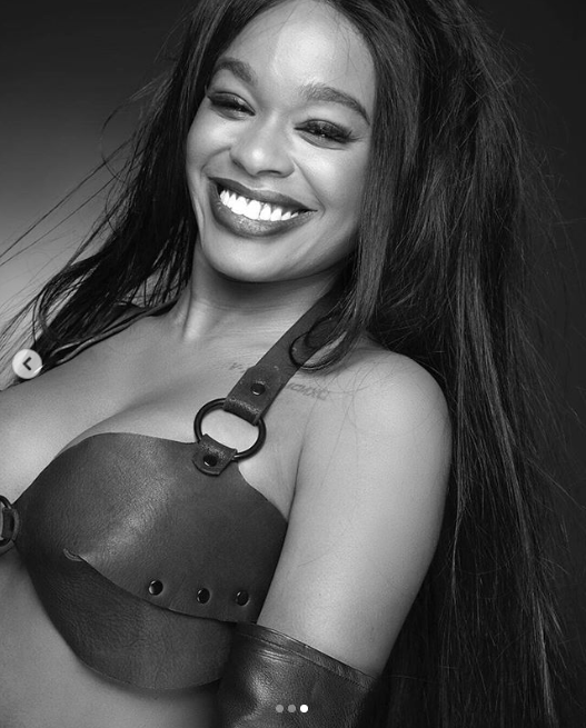Azealia Banks shares racy photo flaunting her surgically enhanced posterior