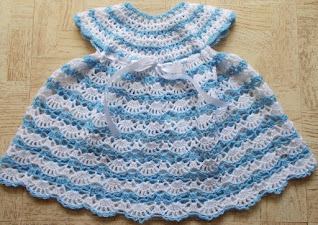 photo of the cute Baby's shelled dress in detail