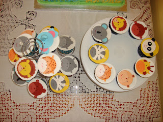 Cupcakes animales de la jungla