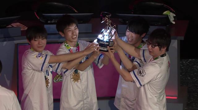 Splatoon 2 World Championship GG BoyZ Japan Sterling Squid silver trophy champions win