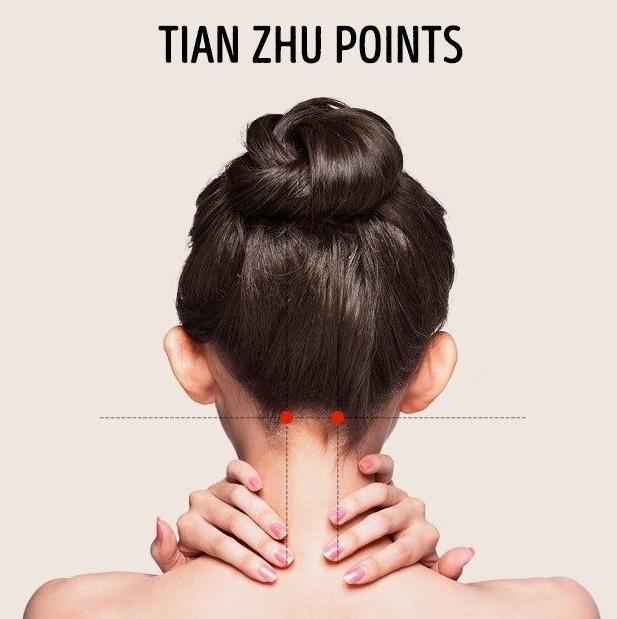 pressure like tian zhu point treatment headache