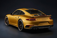 Porsche 911 Turbo S Exclusive Series (2017) Rear Side