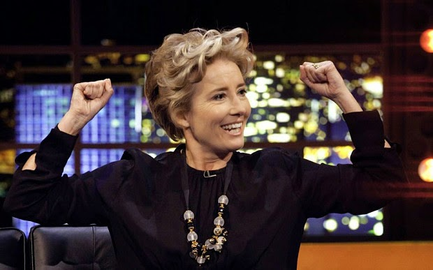 Emma Thompson's most enjoyable quotes