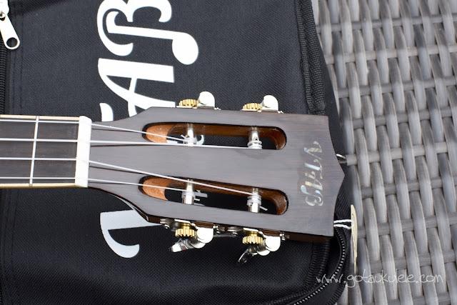 VTAB Concert Ukulele headtock