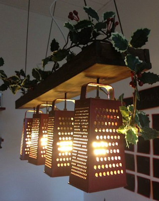 Luminária de Ralador
