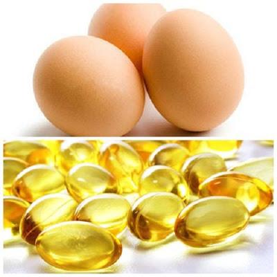 cách trị tàn nhang bằng trứng gà và vitamin E