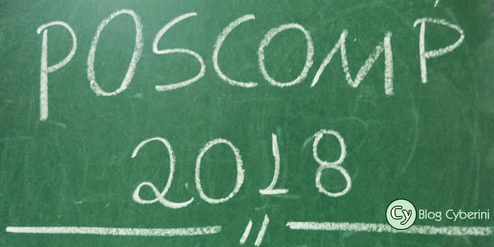 POSCOMP 2018: data, horário e locais da prova