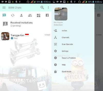 BBM MOD OM Telolet OM Terbaru v3.2.0.6 APK With Fitur Sound Bus