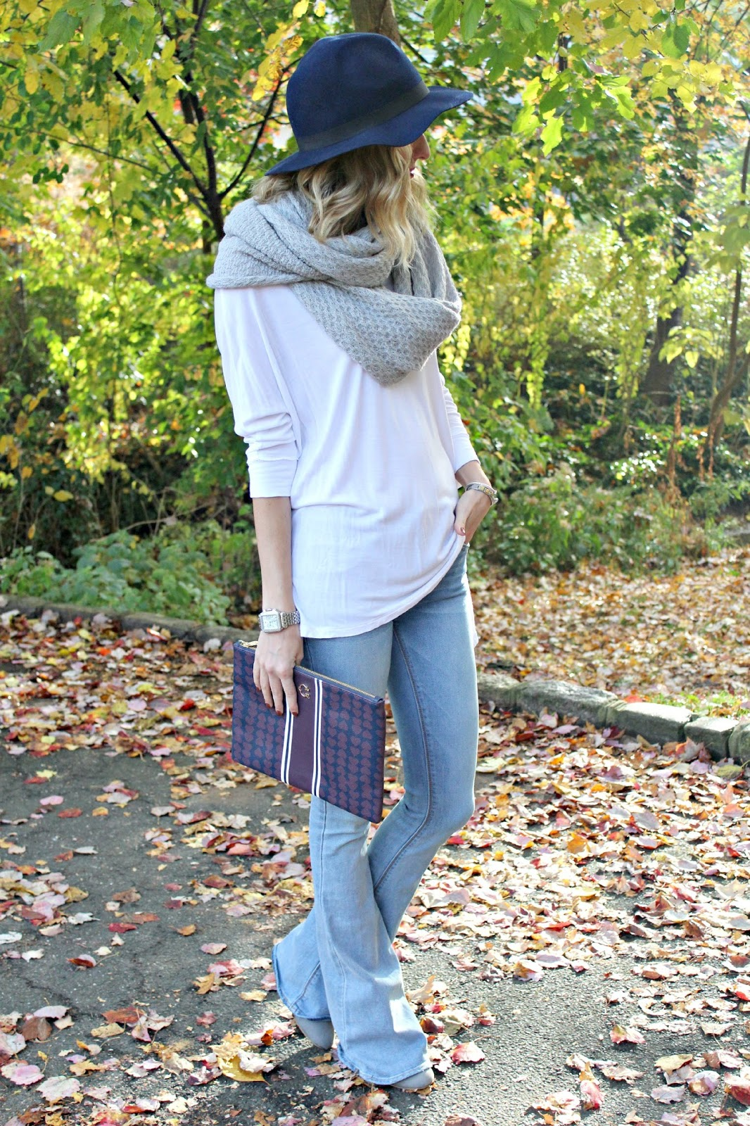 styling flare jeans
