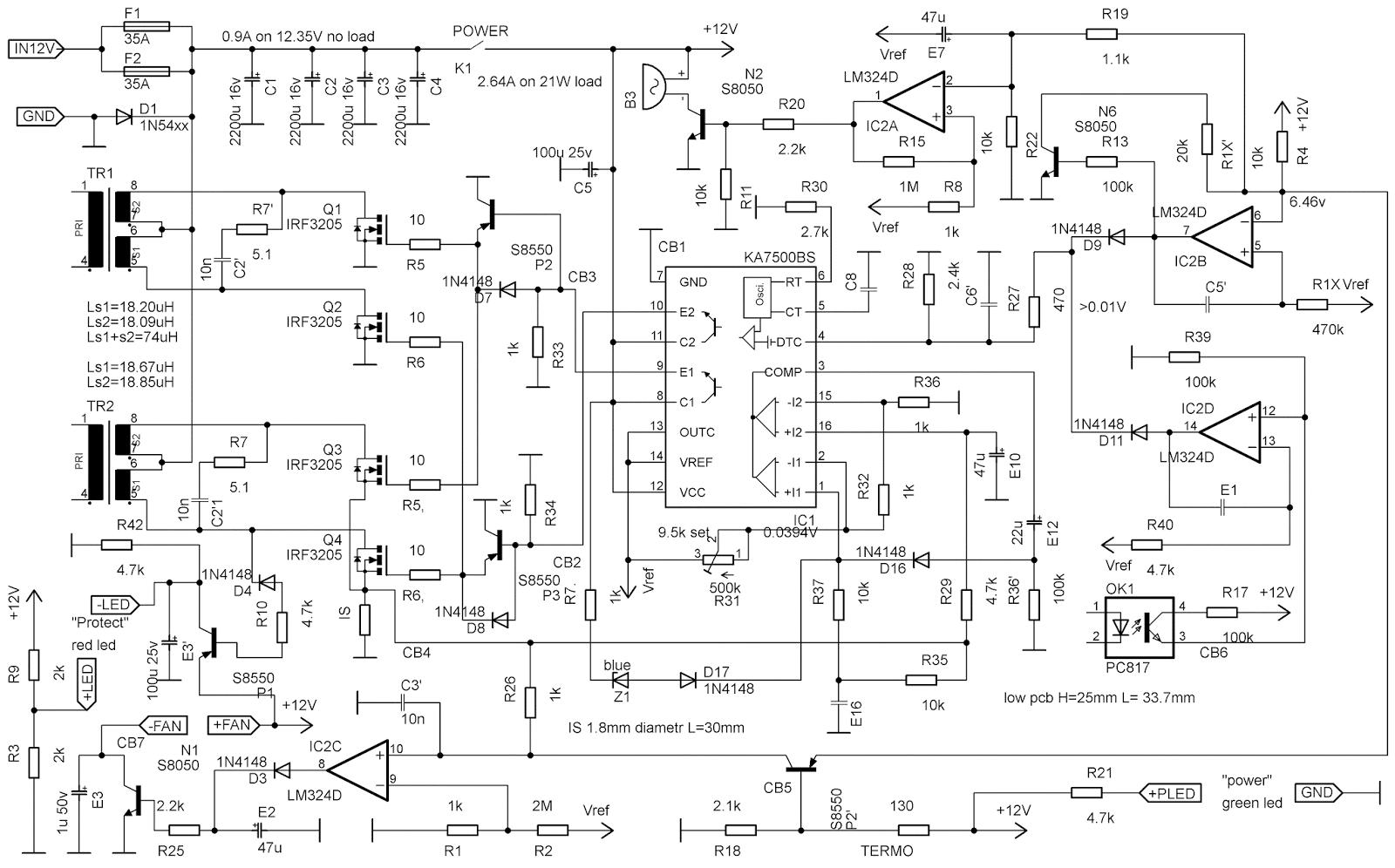 схема 12 вольтового холодильника