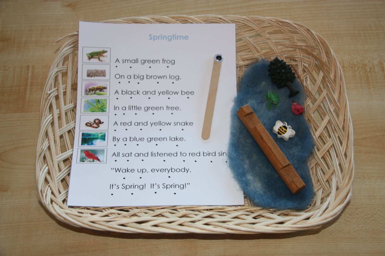 Counting Coconuts April Poetry Basket