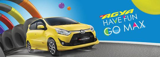 Harga Mobil Toyota Agya Tipe E G TRD Manual Matic Baru Tahun 2018| Jakarta, Tangerang, Serang, Depok, Bekasi, Cikarang