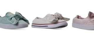 Women Converse Knot Sneakers