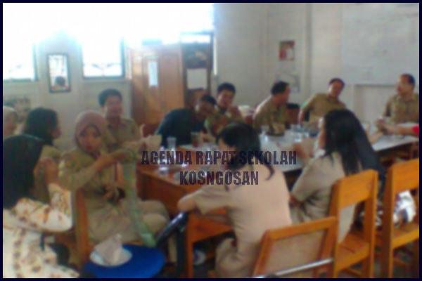 rapat sekolah
