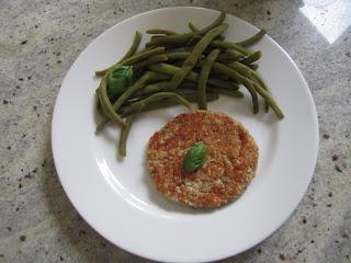 Galettes aux flocons de céréales, avoine, épeautre, blé avec légumes