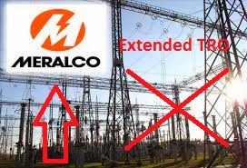 Extended TRO on Meralco Rate Hike Was Asked From the Supreme Court
