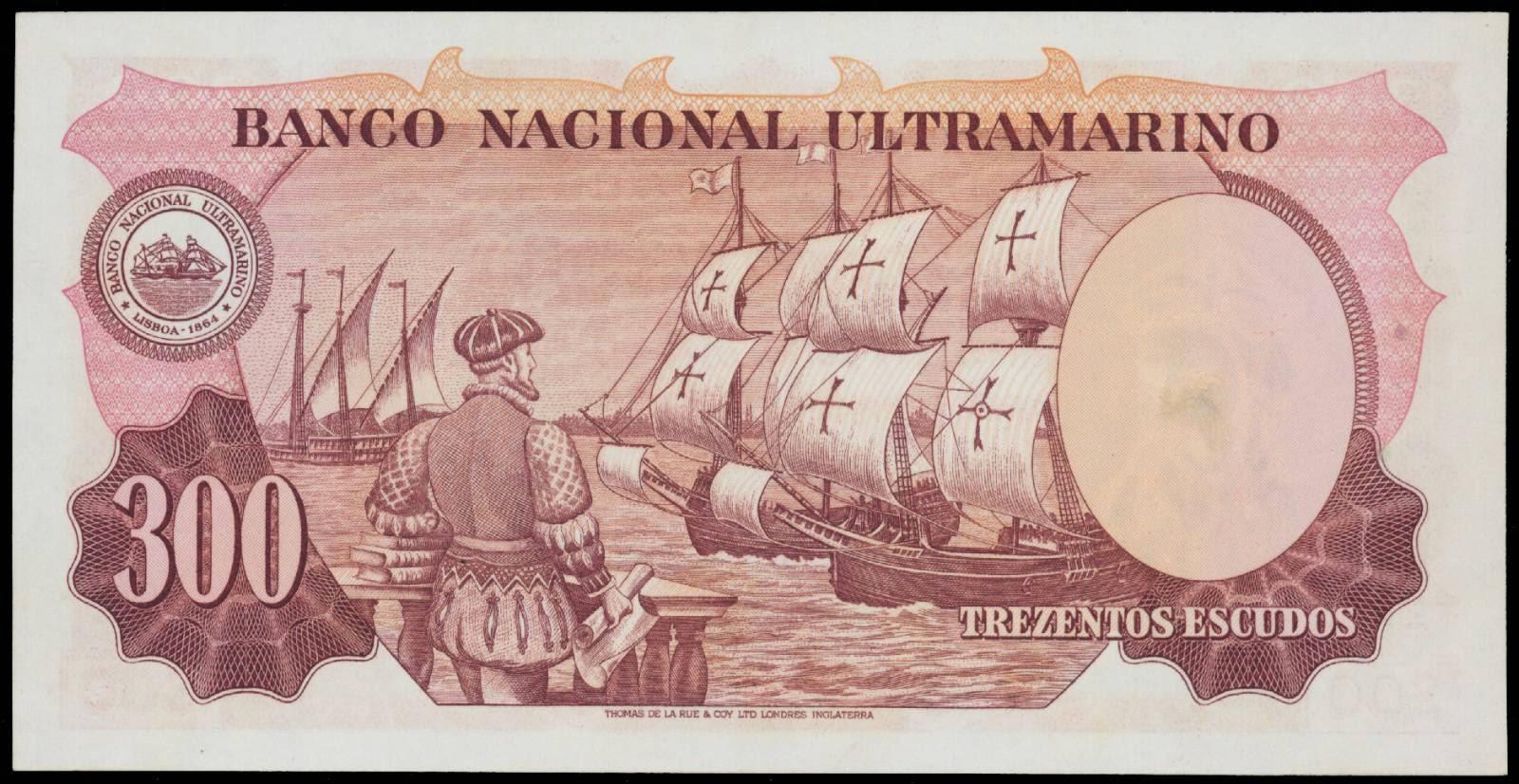 300 Portuguese Indian escudos note 1959