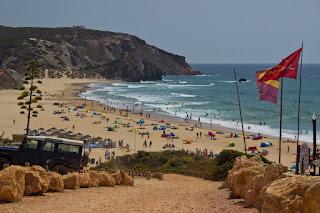 Playa Praia de Amado Carrapateira Algarve Portugal