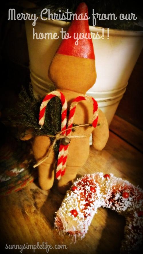 prim Christmas, gnome, candy canes