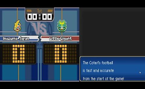 Inazuma Eleven 3 (English) NDS ROM Screenshot-1