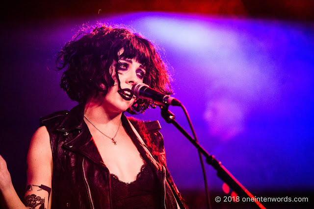 Pale Waves at Velvet Underground on April 9, 2018 Photo by John Ordean at One In Ten Words oneintenwords.com toronto indie alternative live music blog concert photography pictures photos