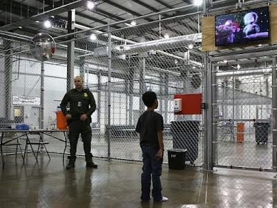 Illegal alien in detention