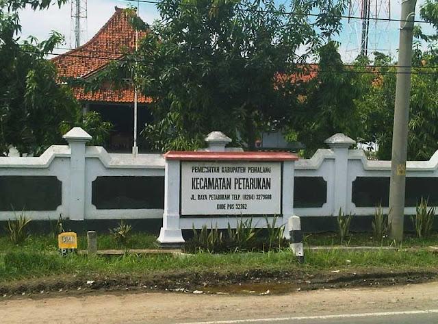 Foto Kantor kecamatan Petarukan pemalang jawa tengah