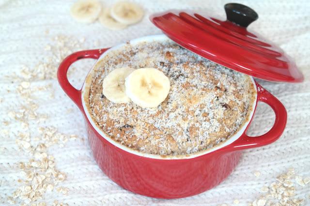 Bananenbrood pannetje baked oats