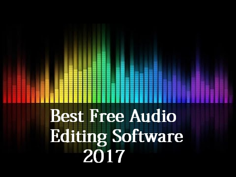 Top 5 Free Audio Editing Softwares 2017 | TechDoge
