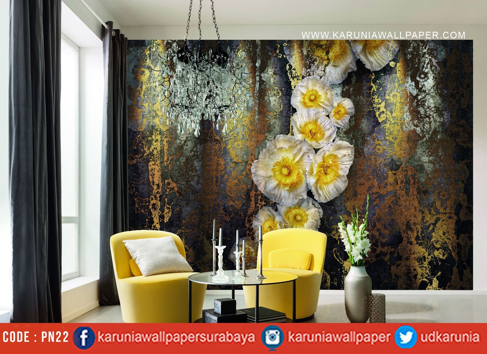 jual photowall wallpaper surabaya