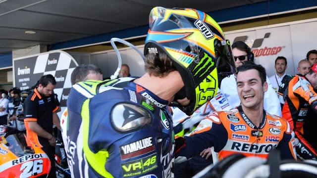 Pedrosa Tidak Ingin Hapus Rossi dari Persaingan