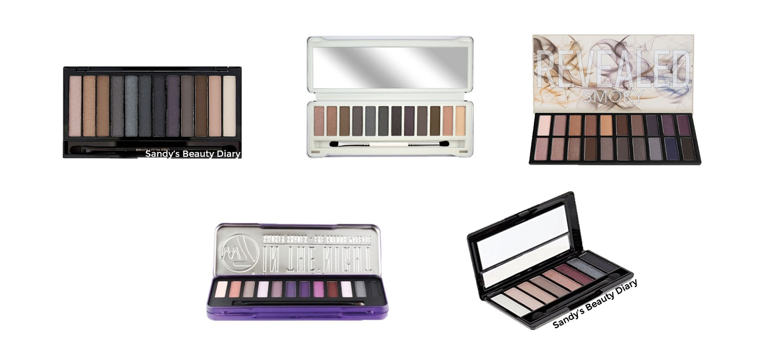 Dupes palettes Naked Smoky Urban Decay