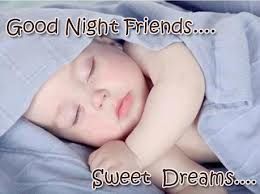 Good night messages hindi friends
