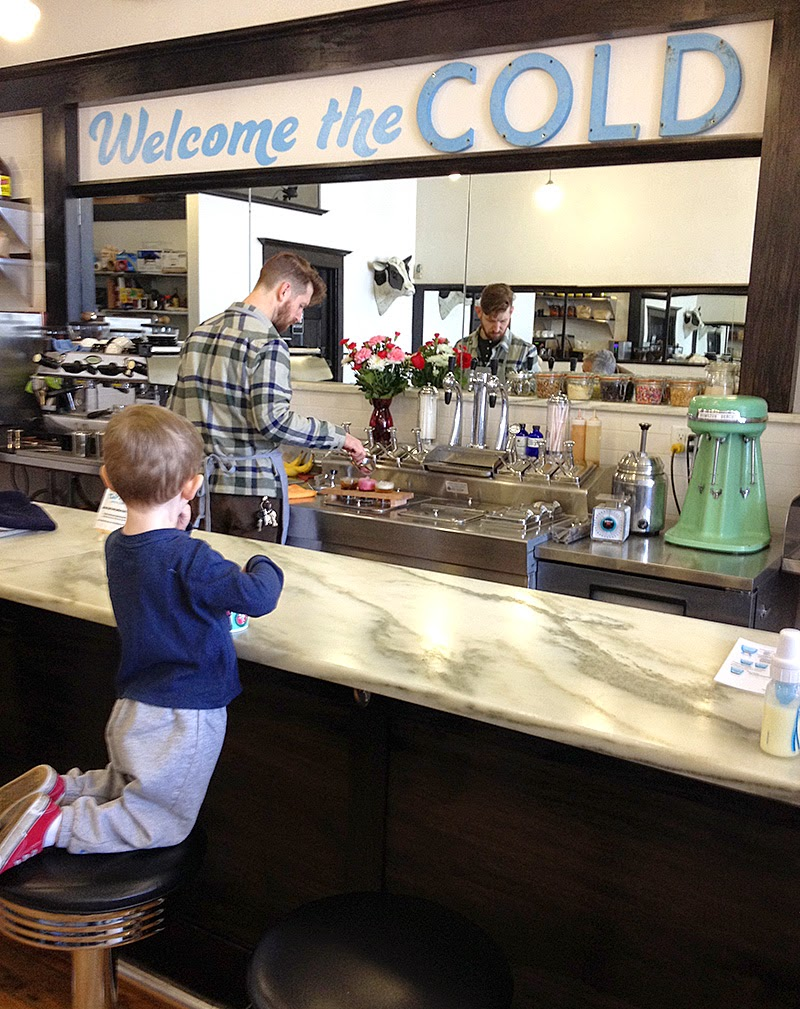 Cold Front Soda Fountain