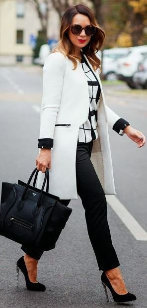 37 Work Outfits for Winter to Shine on Gloomy Days